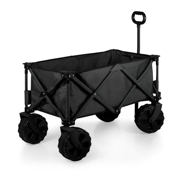 Picnic Time: Adventure Wagon All-Terrain Portable Utility Wagon (Dark Grey)