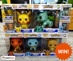 Be in to Win a Pokemon Pop! Prize Pack worth over $400! image