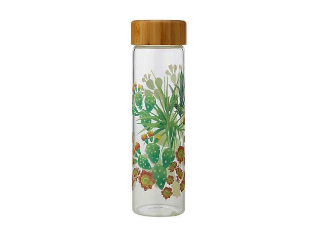 Maxwell & Williams: Royal Botanic Garden Arid Garden Glass Water Bottle