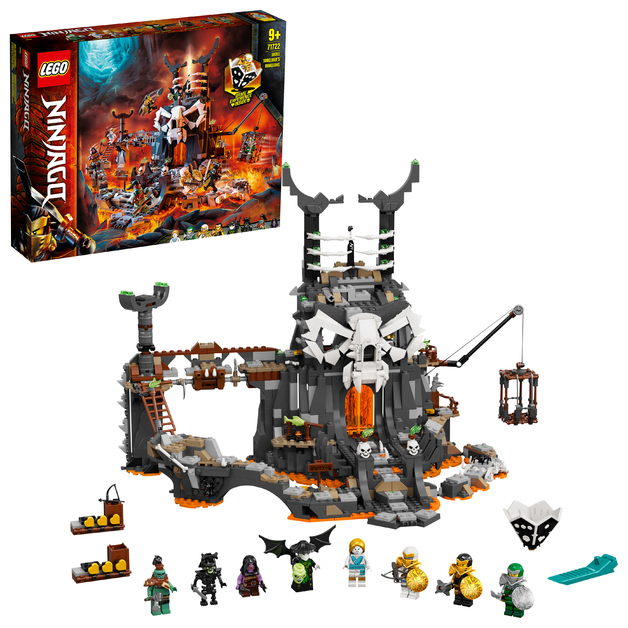 LEGO Ninjago: Skull Sorcerer's Dungeons - (71722)