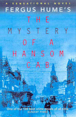 The Mystery of a Hansom CAB by Fergus W. Hume image