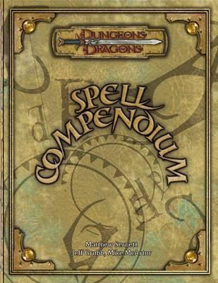 Spell Compendium by Matthew Sernett