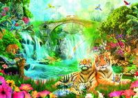 Ravensburger Tiger's Repose Puzzle (1000pc)