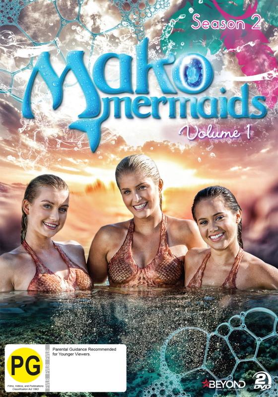 Mako Mermaids - Season 2 Volume 1 on DVD
