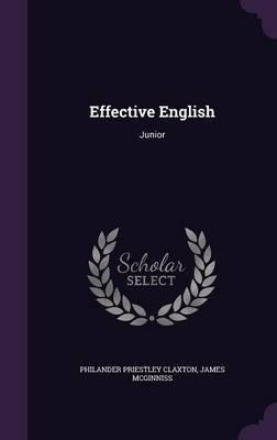 Effective English by Philander Priestley Claxton image