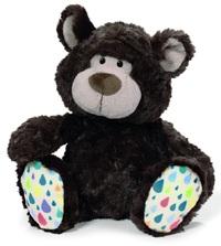 NICI: Dark Brown Bear Classic Plush (25cm)