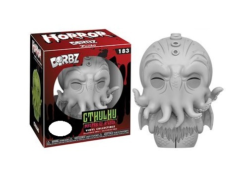 HP Lovecraft: Cthulu (Black & White) - Dorbz Vinyl Figure image