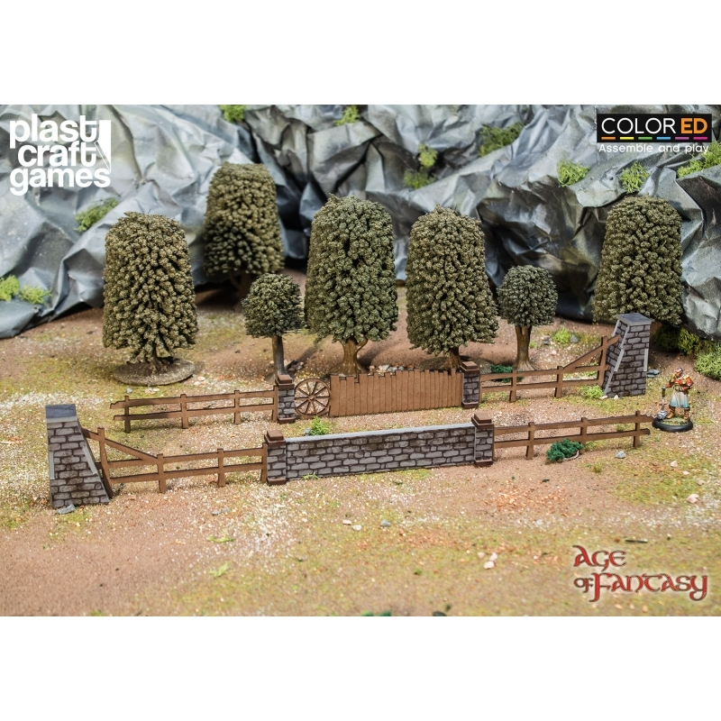 ColorED Scenery: Old Shire Fences image