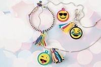Make It Real: Cross Stitch Emoji Jewellery - Craft Kit