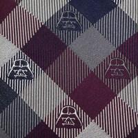 Star Wars: Darth Vader (Plum) - Modern Plaid Tie image