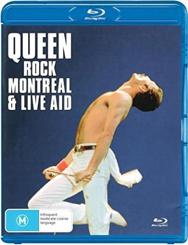 Rock Montreal/Live Aid on Blu-ray by Queen image