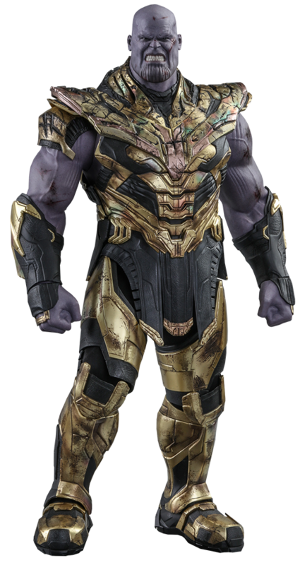 "Avengers: Endgame - Thanos (Battle Damaged) - 16"" Articulated Figure"
