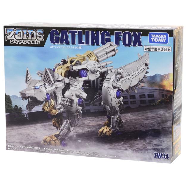 Zoids Wild: ZW34 Gatling Fox - Model Kit