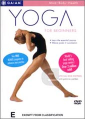 Yoga For Beginners on DVD