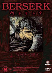 Berserk - V1 - War Cry on DVD