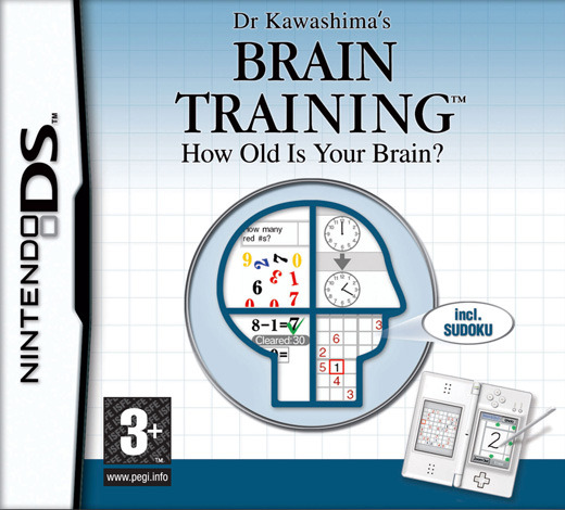 Brain Training (aka Brain Age) for Nintendo DS