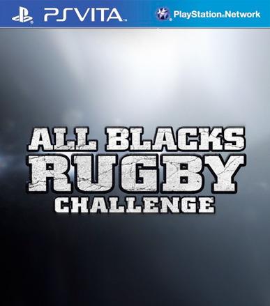 All Blacks Rugby Challenge for Vita