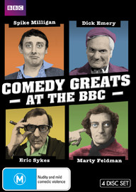 Comedy Greats at the BBC: Marty Feldman, Spike Milligan, Eric Sykes, Dick Emery on DVD