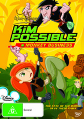Kim Possible - Monkey Business on DVD