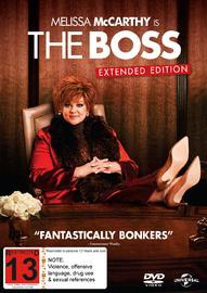 The Boss DVD