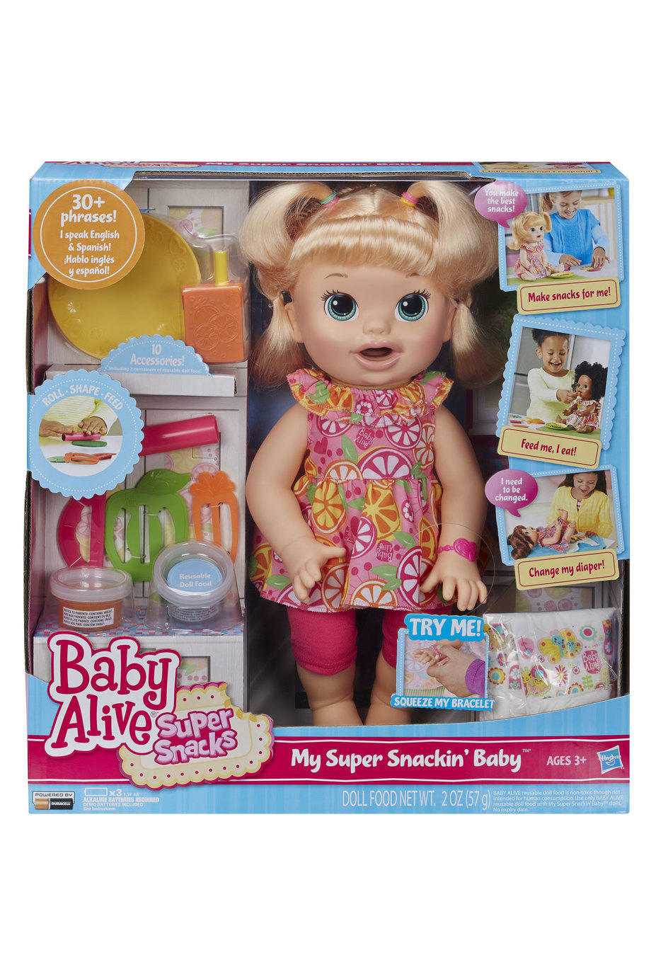 Baby Alive Toys : Baby alive super snacks snackin sara toy at mighty
