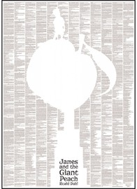 Spineless Classics James and the Giant Peach Print (50 x 70 cm)