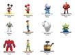 Jada Metal Minis:Disney - Nano Metalfigs Single Pack Wave 03 (Assortment)