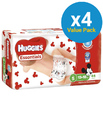 Huggies Essentials Nappies Bulk Value Box - Size 5 Walker (176)