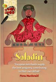 Saladin by Fiona MacDonald image