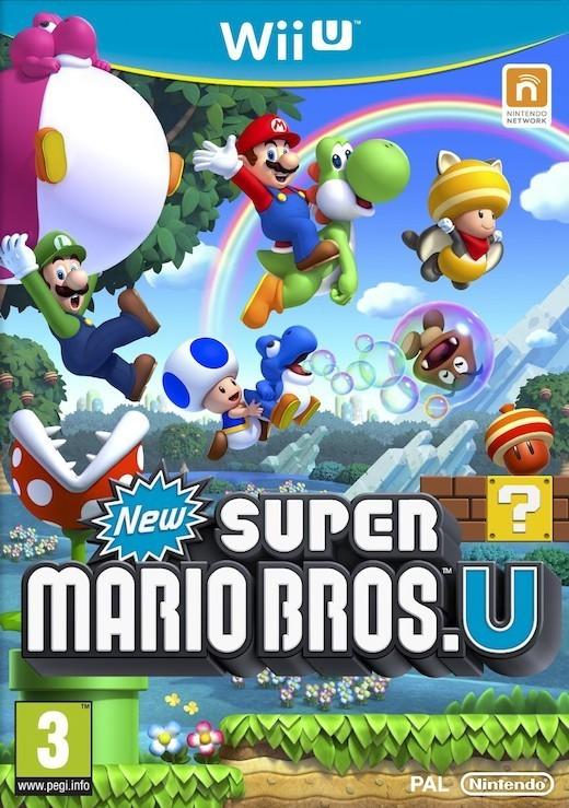 New Super Mario Bros. U for Wii U