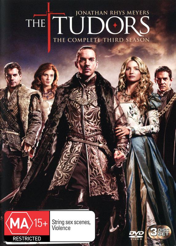 The Tudors - The Complete 3rd Season (3 Disc Set) on DVD
