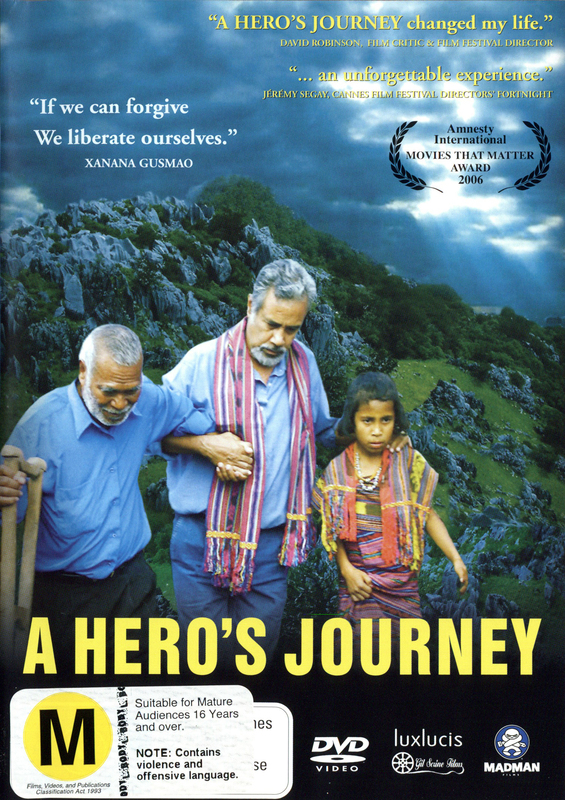 Hero's Journey, A on DVD