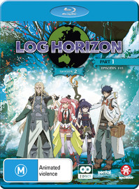 Log Horizon Season 2 Part 1 (eps 1-13) on Blu-ray