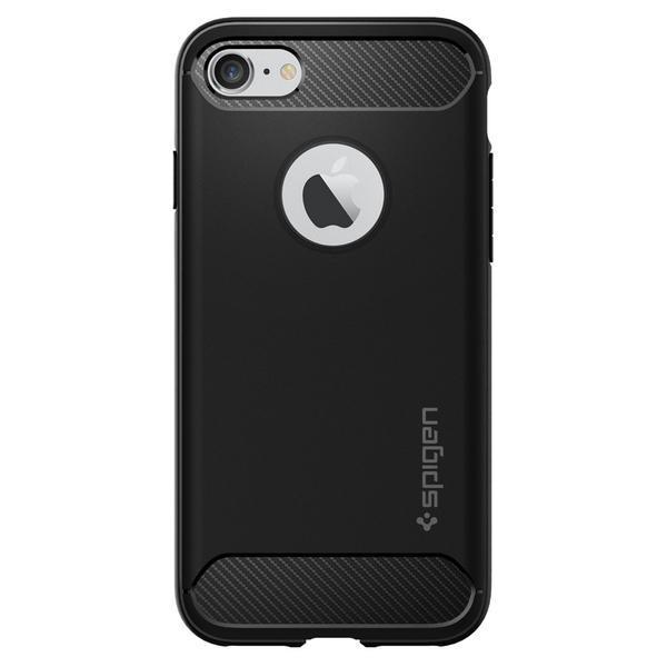 Spigen iPhone 7 Rugged Armor Case - Black