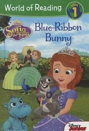 Blue Ribbon Bunny by Sarah Nathan