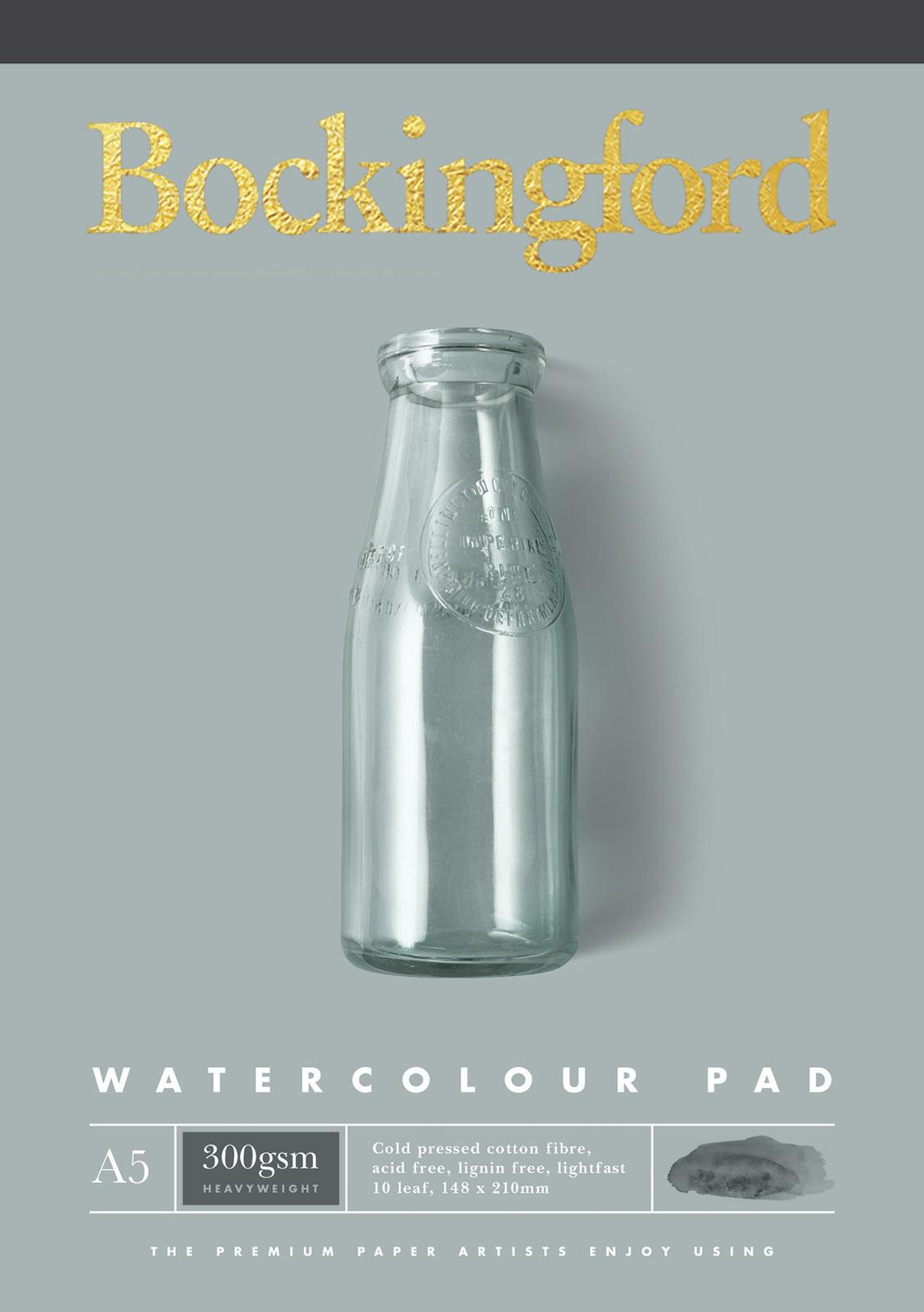 Bockingford: A5 300GSM Watercolour Pad - 10 Leaf image