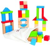 Hape Maple Wood Blocks (50pc Set)
