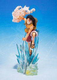 Figuarts ZERO - One Piece: Monkey D Luffy (-Brother's Bond- Ver.) Figure