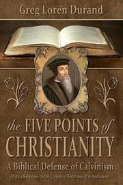 The Five Points of Christianity by Greg Loren Durand image