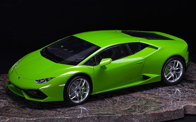 Pocher 18 Lamborghini Huracan Lp 610 4 Verde Mantis Metallic