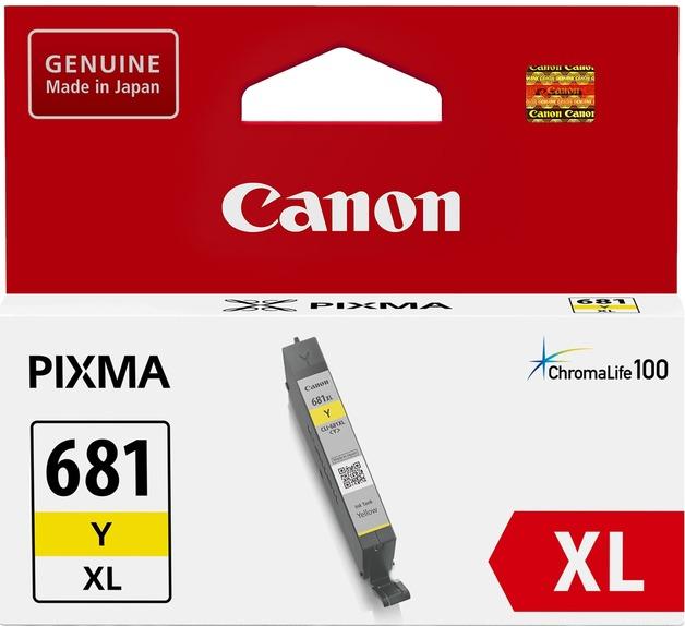 Canon CLI681XLY Yellow High Yield Ink Cartridge