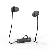iFrogz: Impulse Duo - Dual Driver Wireless Earbuds - Charcoal/Black