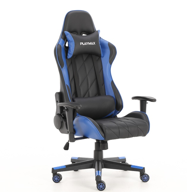 Playmax Elite Gaming Chair - Blue and Black for