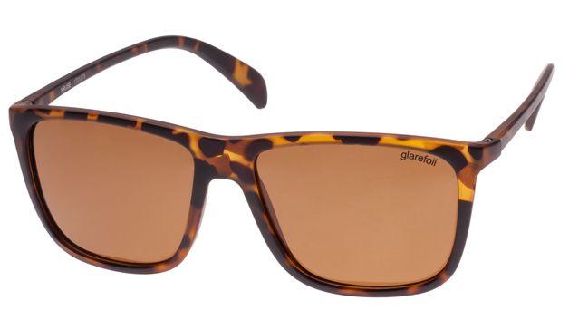 Glarefoil: Kruse Sunglasses - Tortoise + Brown Lens