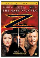The Mask Of Zorro - Deluxe Edition on DVD
