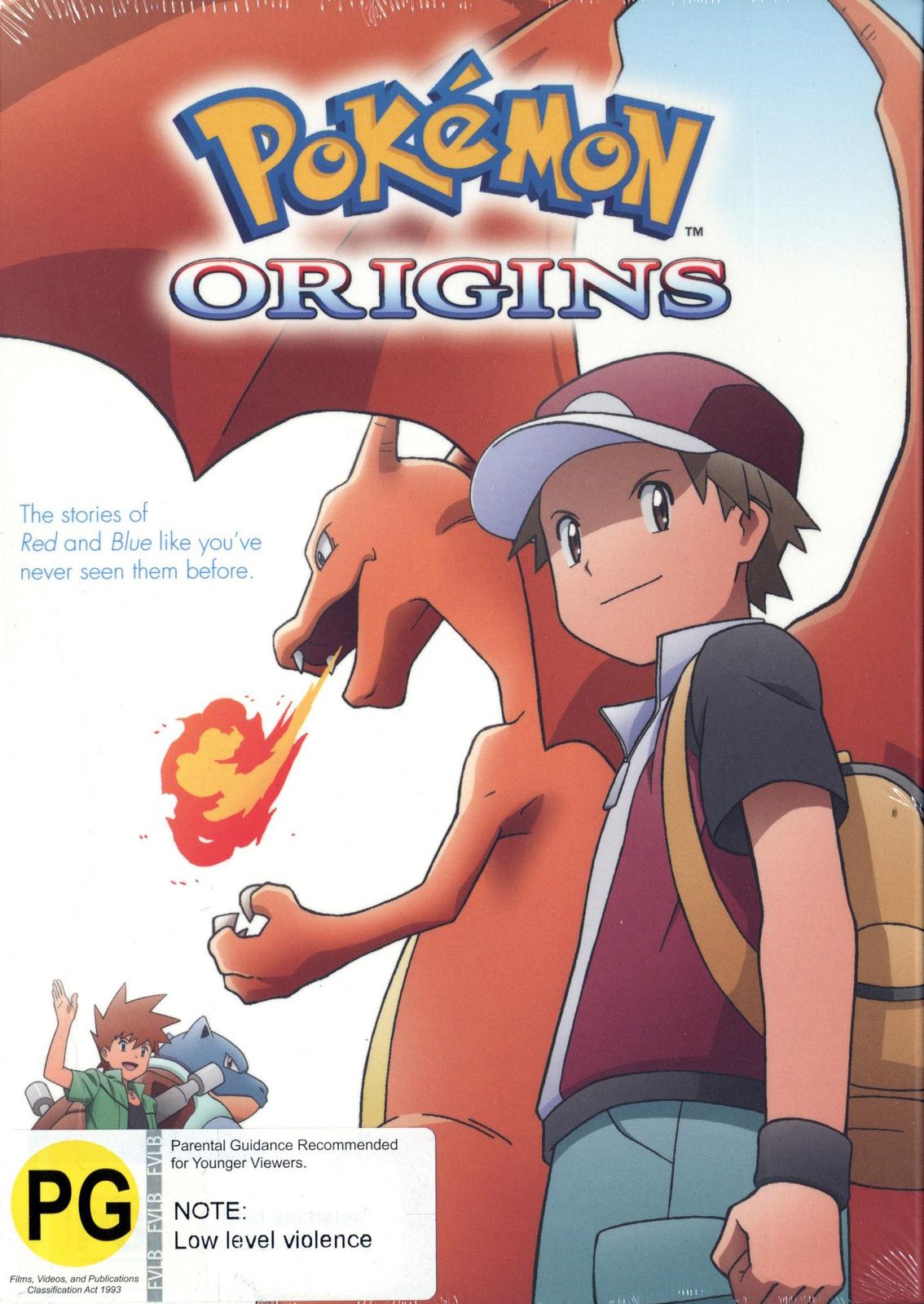 Pokemon: Origins on DVD image