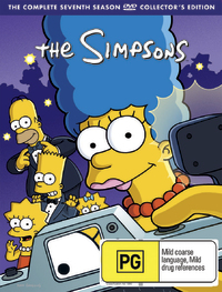 The Simpsons - Season 7 on DVD