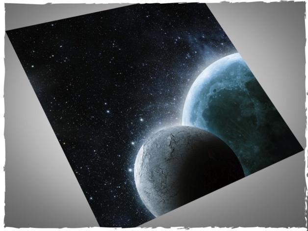DeepCut Studio Planets Neoprene Mat (3x3)
