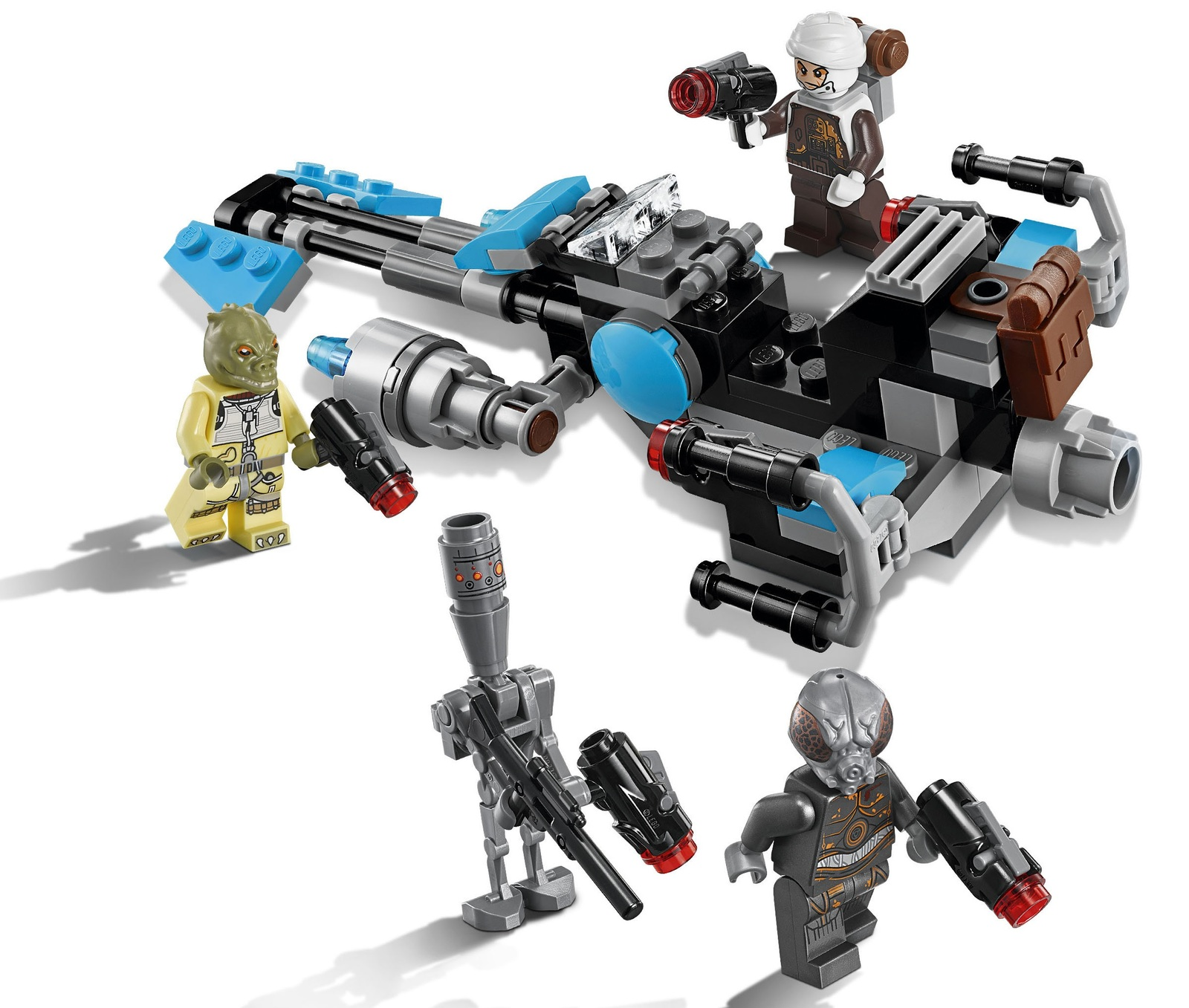 Lego Star Wars Battles 0 30 Apk: LEGO Star Wars: Bounty Hunter Speeder Bike Battle Pack
