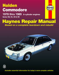 Holden Commodore (78 - 85) by Tim Imhoff